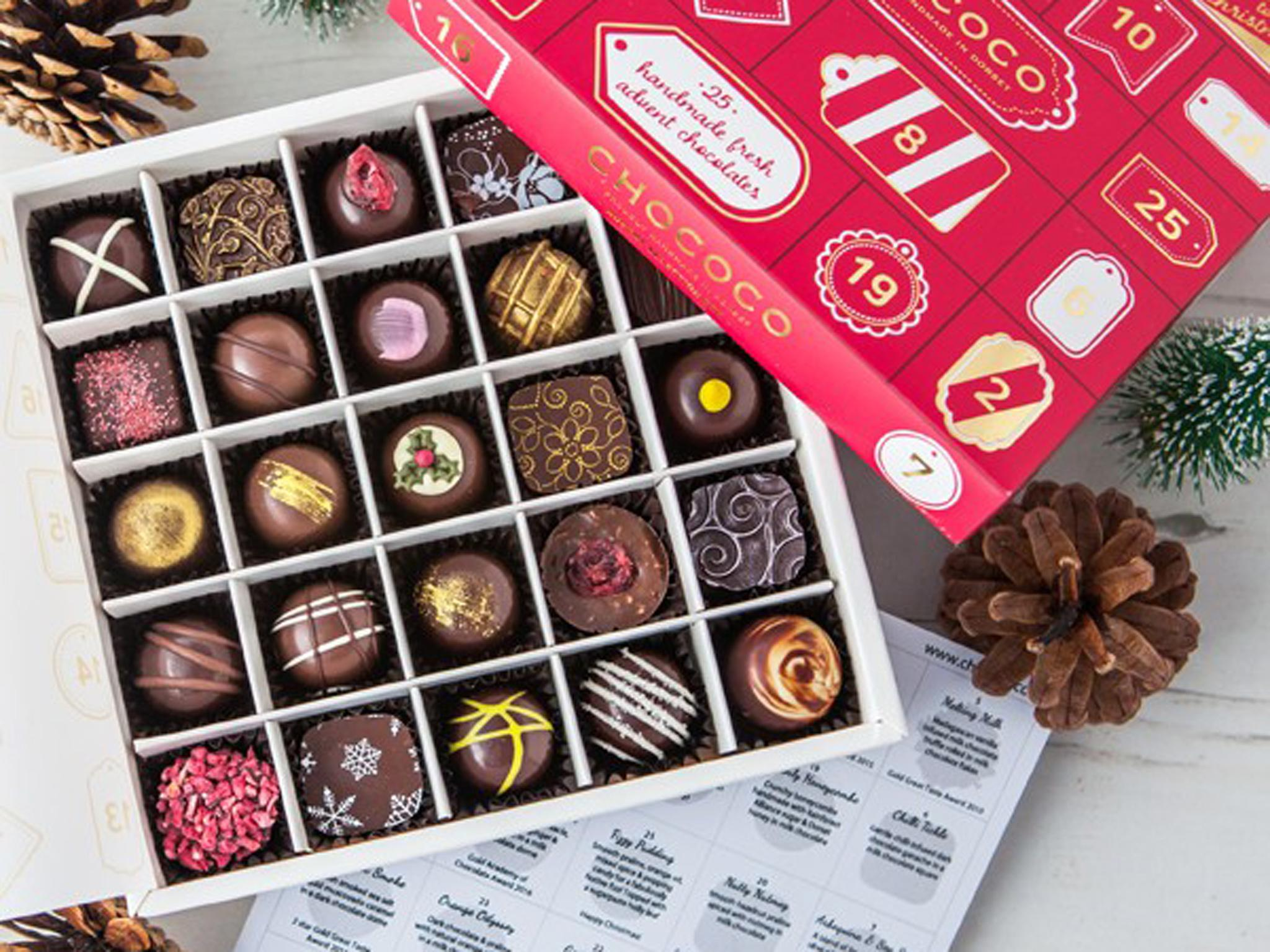 12 best chocolate advent calendars for adults the. Black Bedroom Furniture Sets. Home Design Ideas