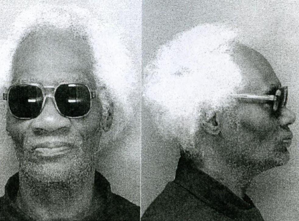 Joseph Ligon during his incarceration in 2002