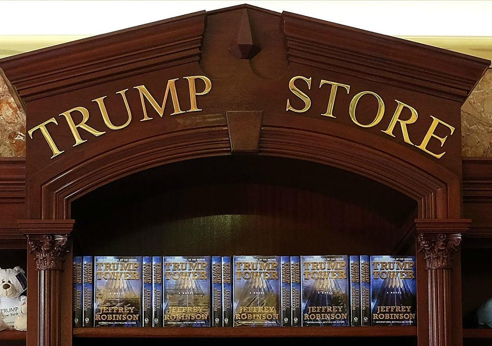 Donald Trump authored a novel and naturally it's about non