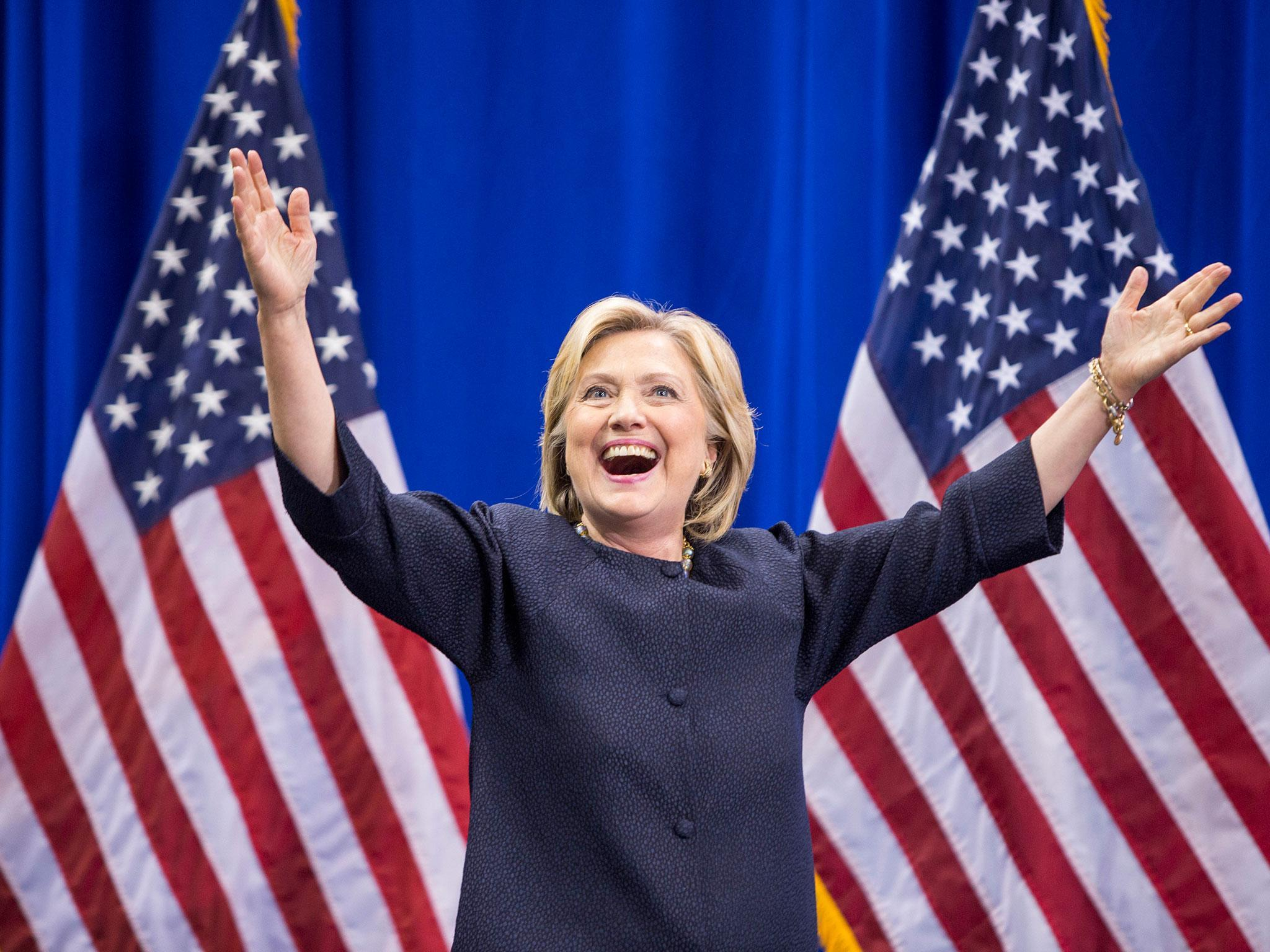 hillary clinton 2016 wallpaper  Presidential election: Early voting suggests Hillary Clinton is ...