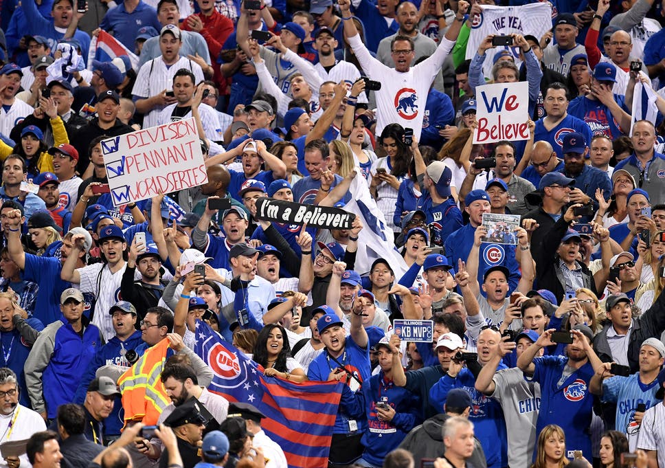 new style b08a2 21d78 World Series 2016: Tears of joy as Chicago Cubs fans ...