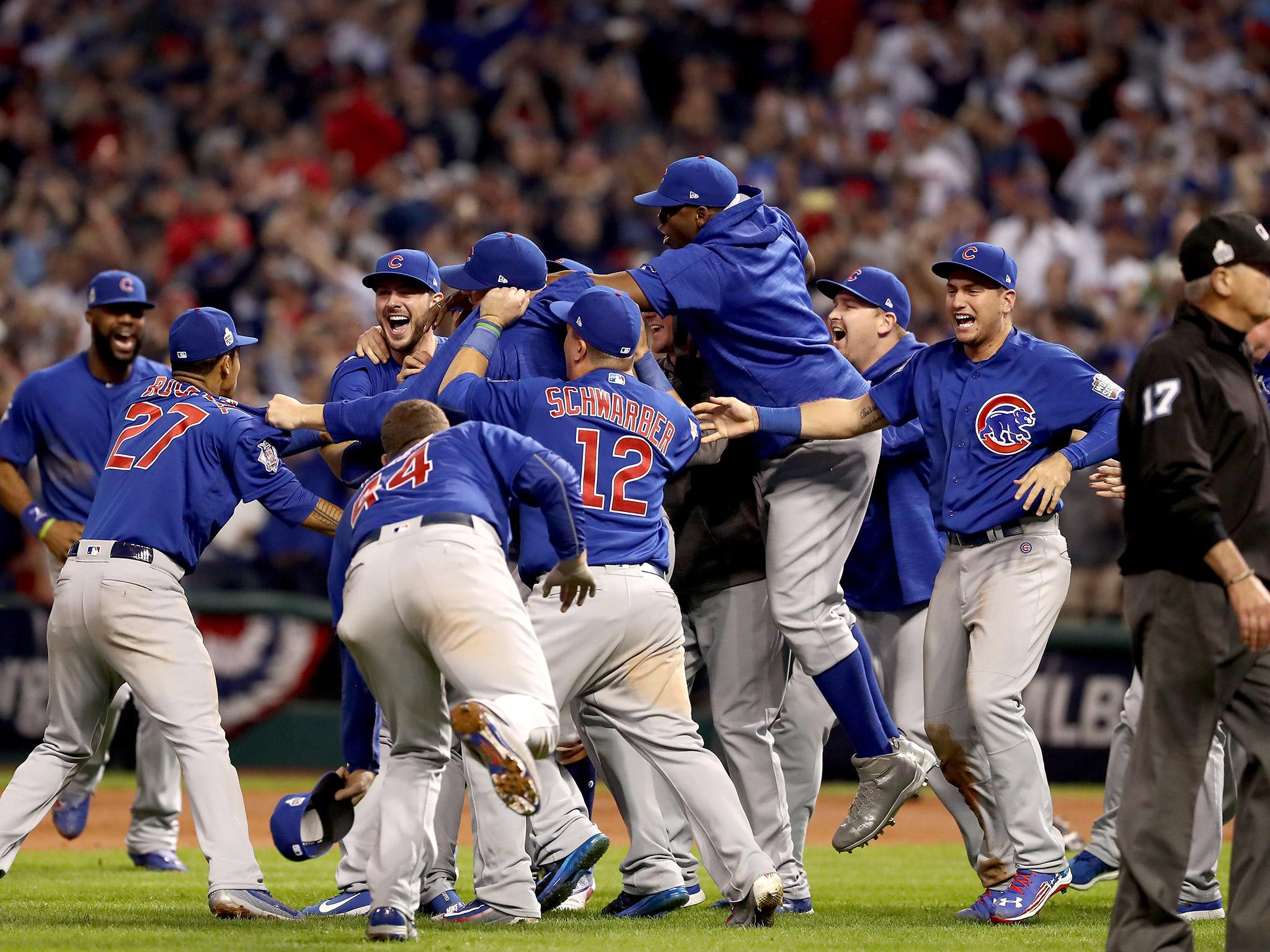 World Series 2016: Chicago Cubs end 108-year title drought ...