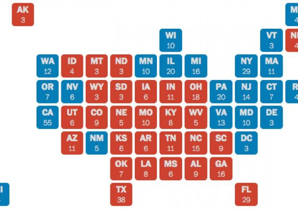 Four maps that prove Donald Trump can still win the US election ...