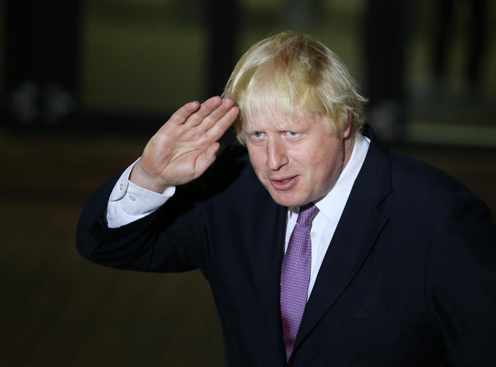 Boris Johnson branded the President-elect 'unfit' to lead America and even of 'playing the game of the terrorists'