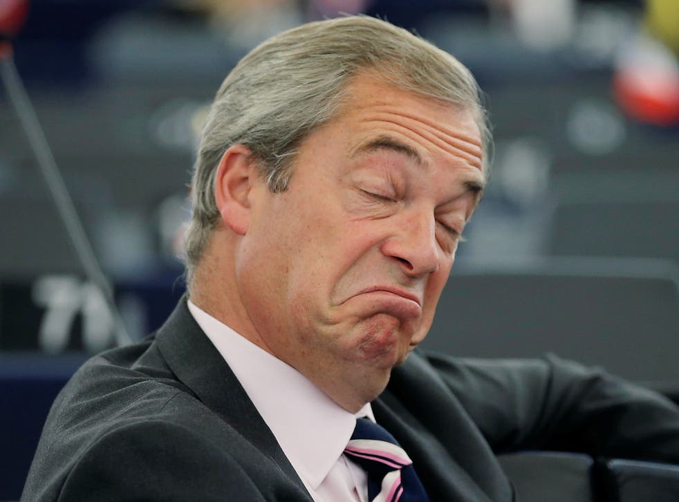 Plans of the protest emerge as Mr Farage warned of 'disturbances in the street' if Brexit supporters' wishes were frustrated