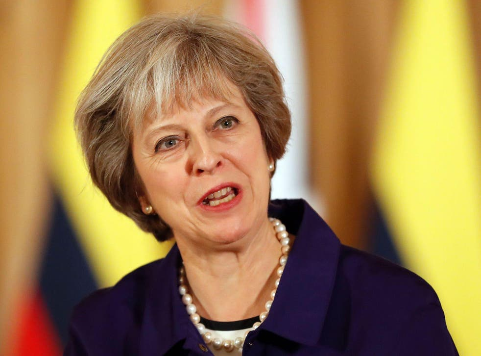 Theresa May's hopes of starting the Brexit process by March 2017 have been plunged into chaos Getty