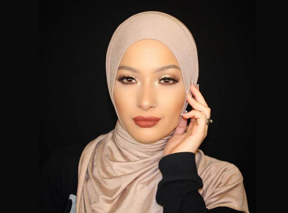 Nura is one of the only women to appear in an advertising campaign wearing a hijab