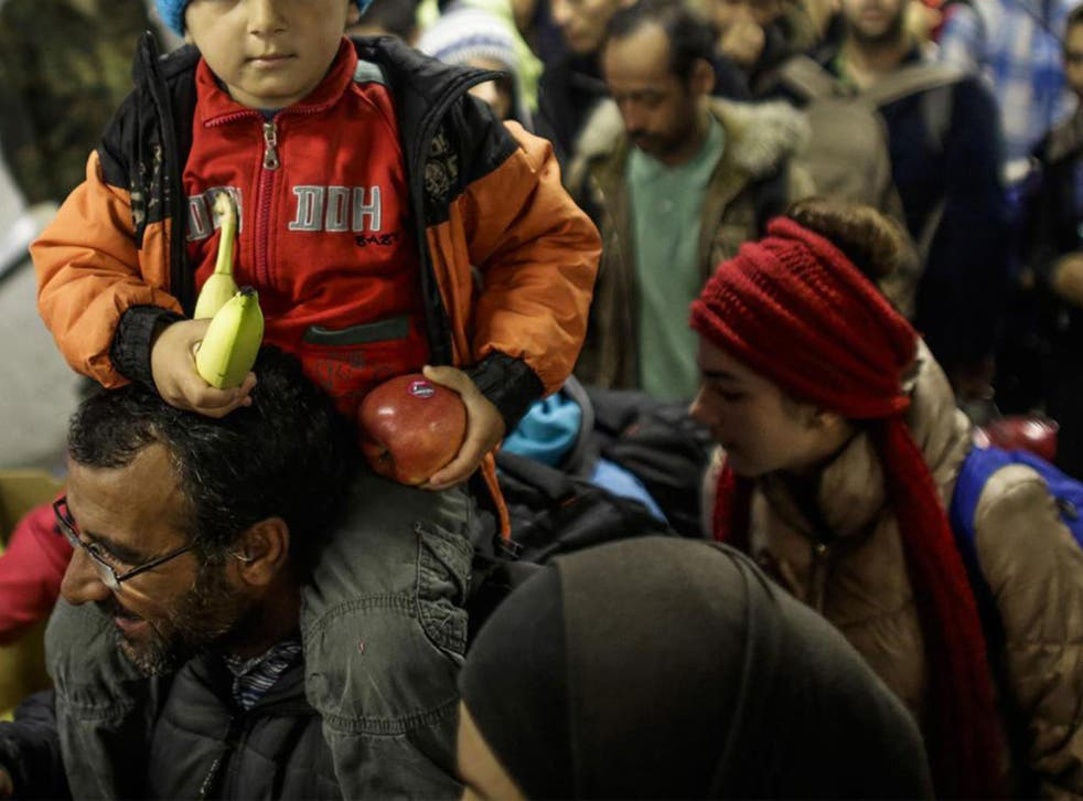 Hundreds of thousands of refugees have been housed in temporary accommodation in Germany