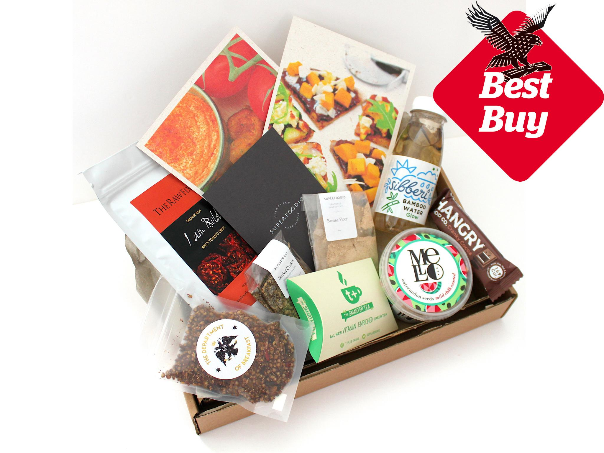 Healthy Snack Box Delivery Uk