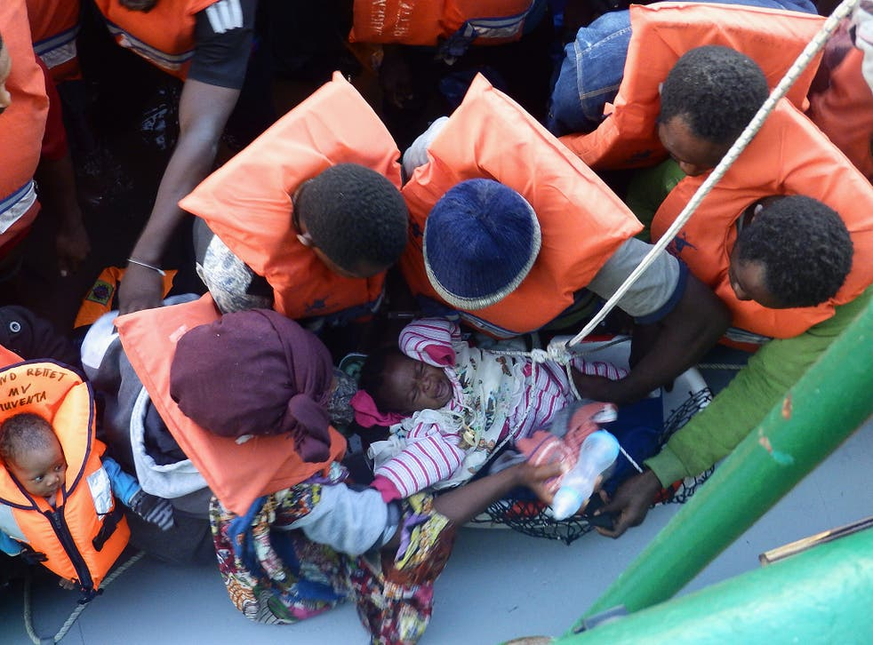 Boat crossings in the Mediterranean have shown no sign of stopping as winter closes in