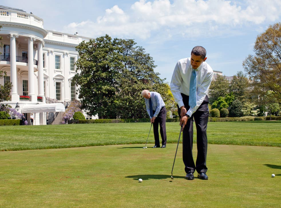 Barack Obama has played golf over 300 times during his eight years in the White House