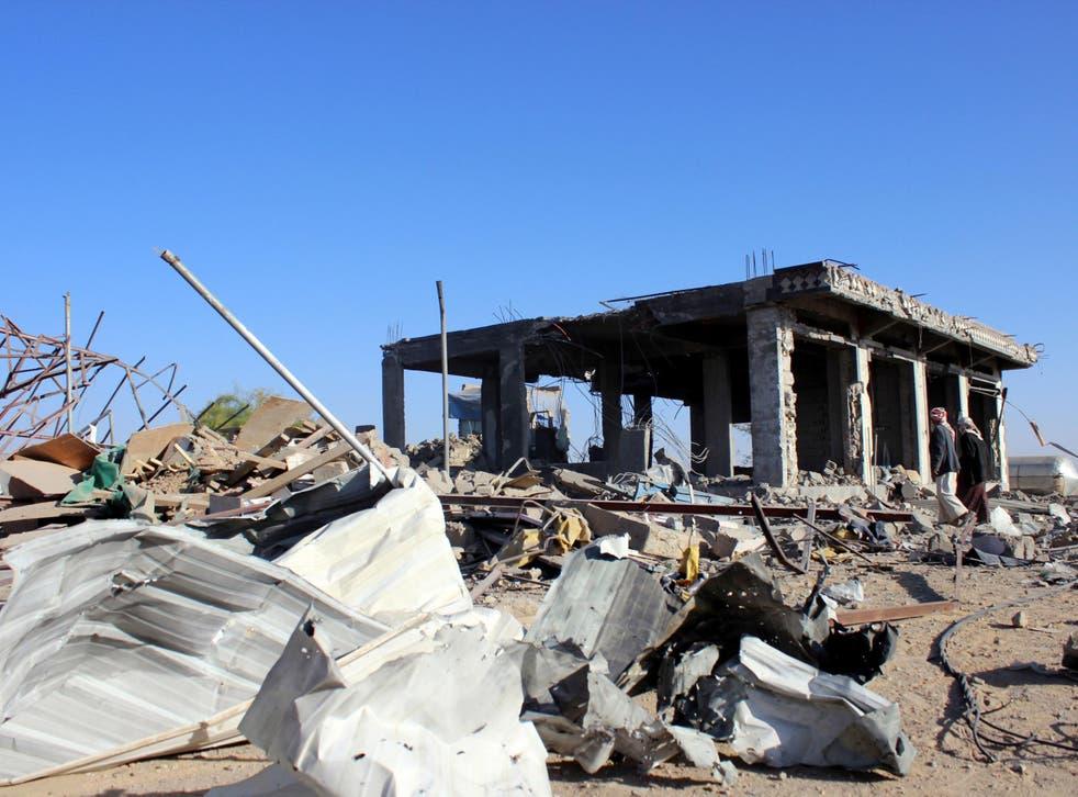 The Saudi-led bombing campaign in Yemen began last year