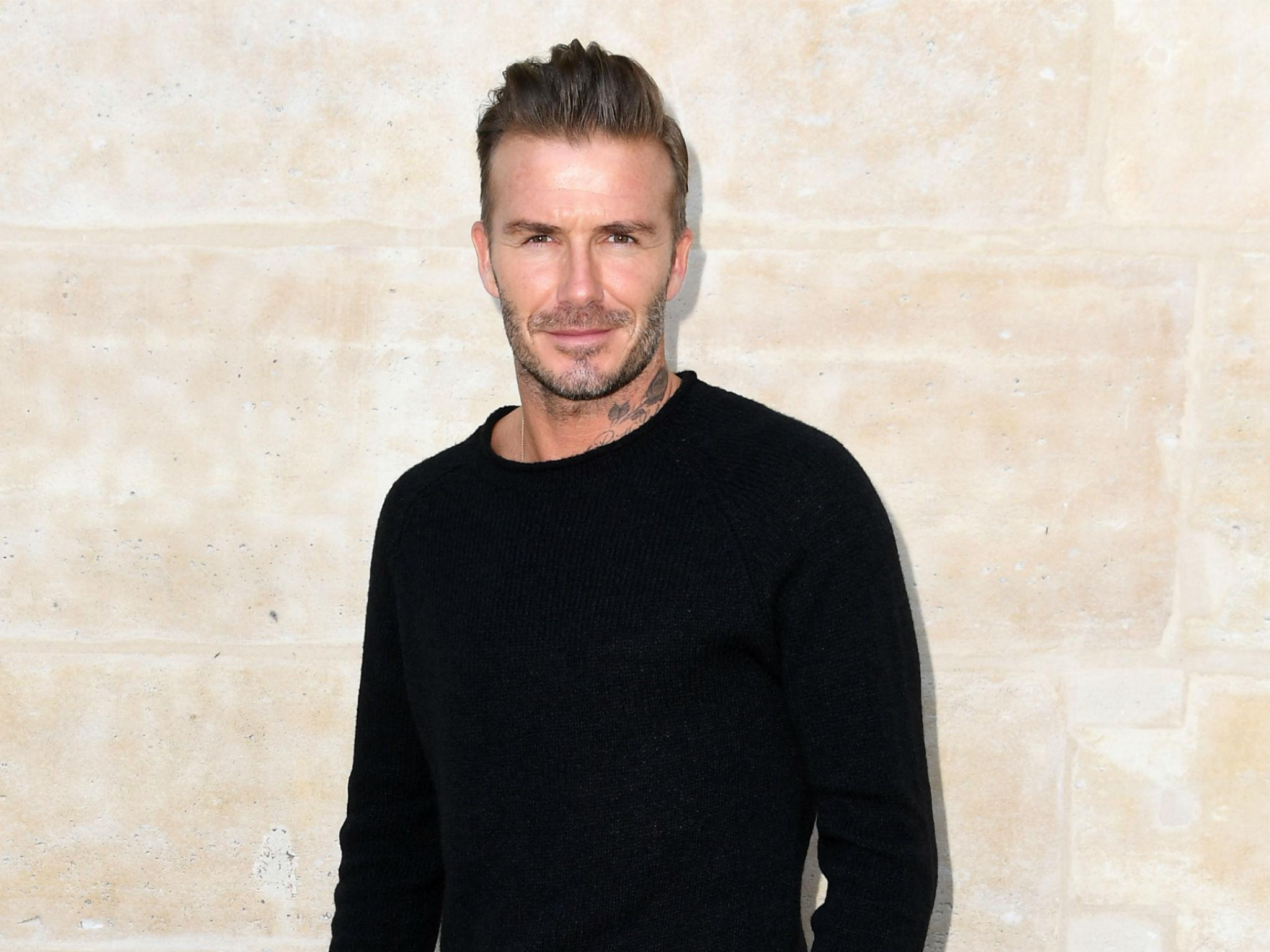 David Beckham says '... David Beckham