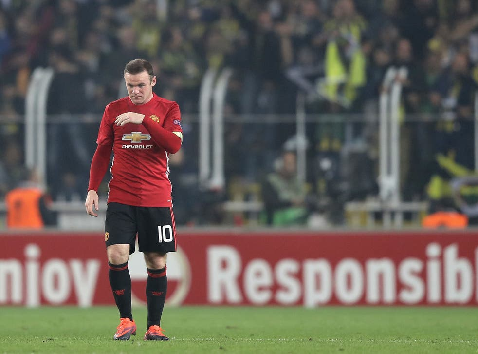 Rooney has made a difficult start to the season under Mourinho