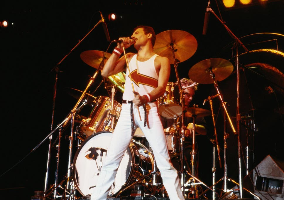 Freddie Mercury's isolated vocals on 'We Are The Champions' will