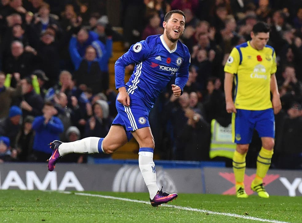 Hazard hobbled off during Chelsea's victory over West Brom