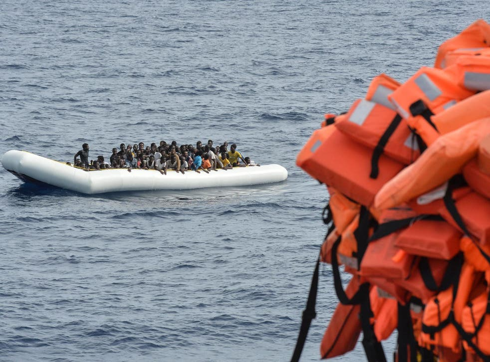 People smugglers continue to launch overcrowded refugee boats from Libya in worsening weather