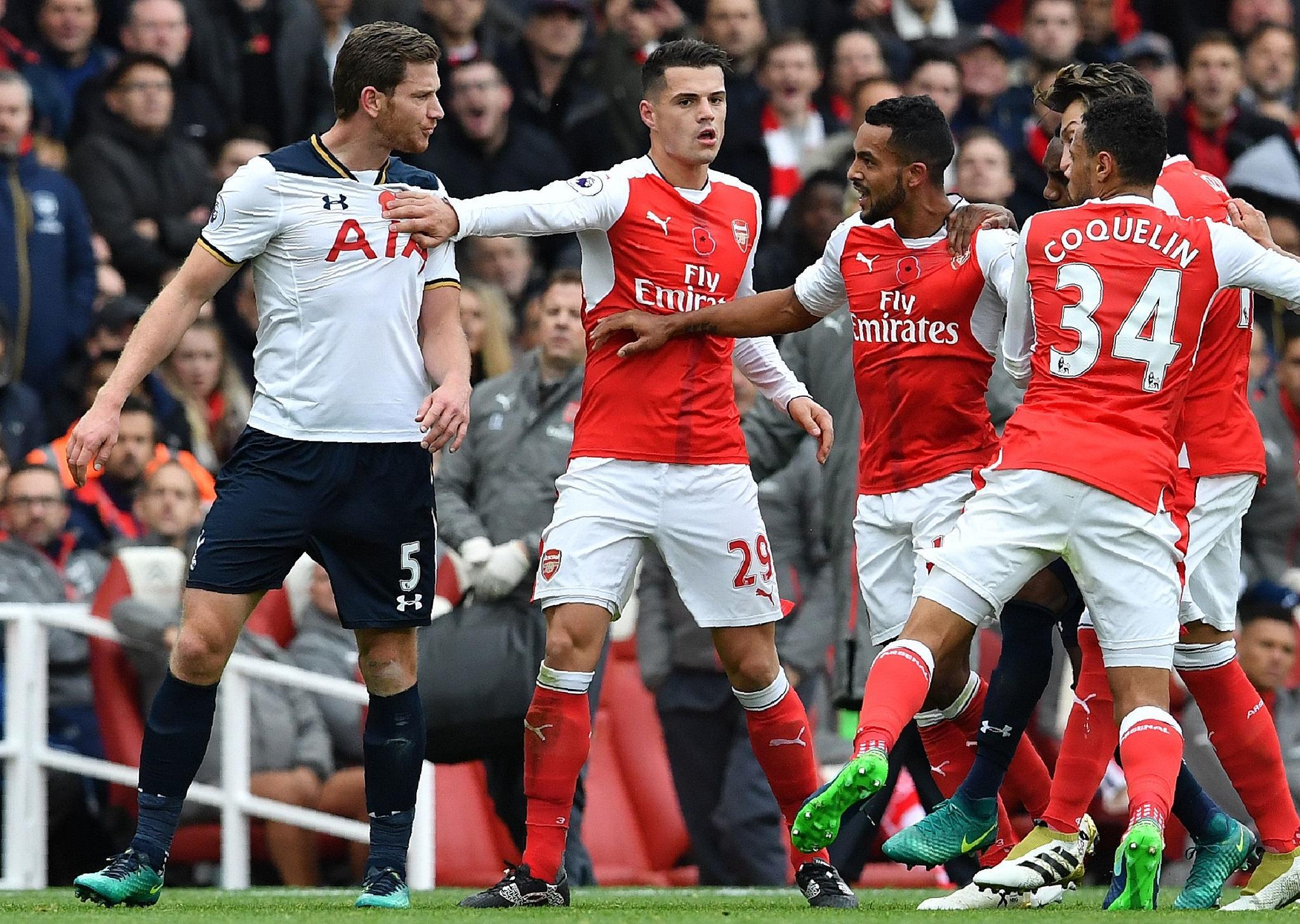 Arsenal vs Tottenham: Five things we learnt as Granit ...