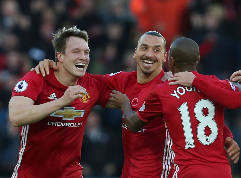Zlatan added United's second