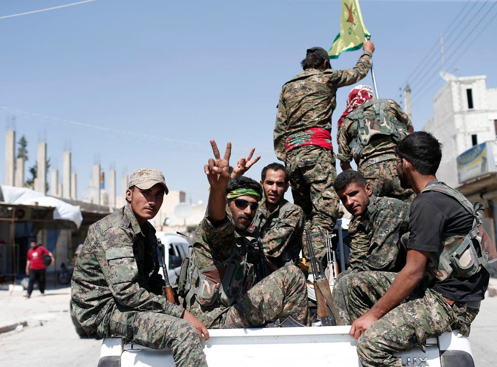 12 YPG and 8 YPJ fighters were killed in Turkish strikes carried out without US coalition consent in Syria and Iraq on 25 April 2017