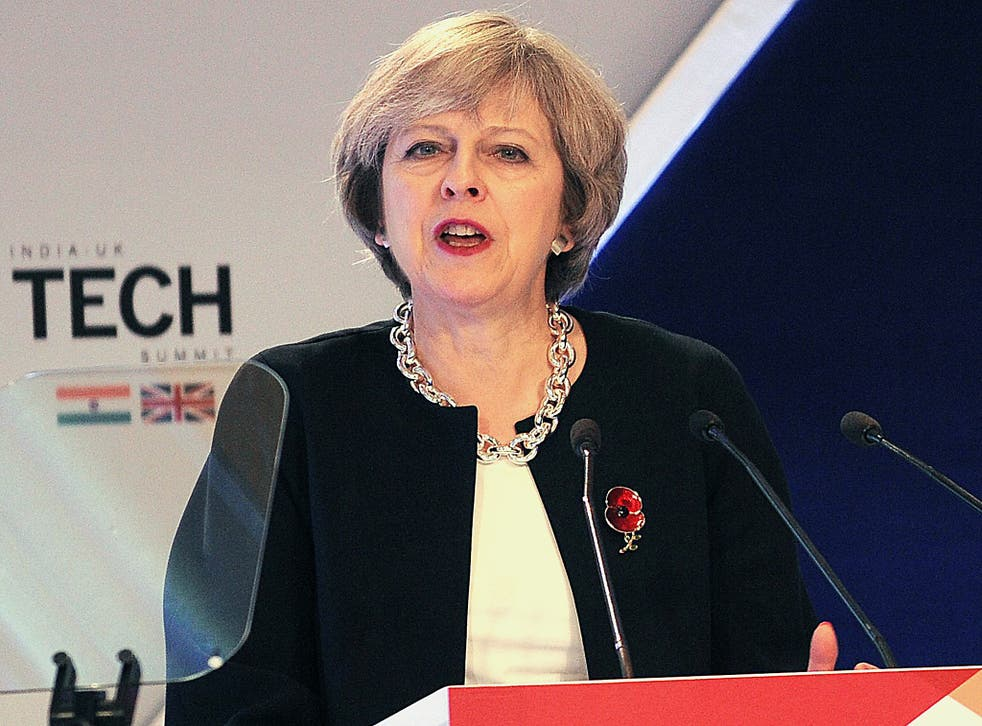 Ms May has spoken out - but not in too blatant terms, say experts