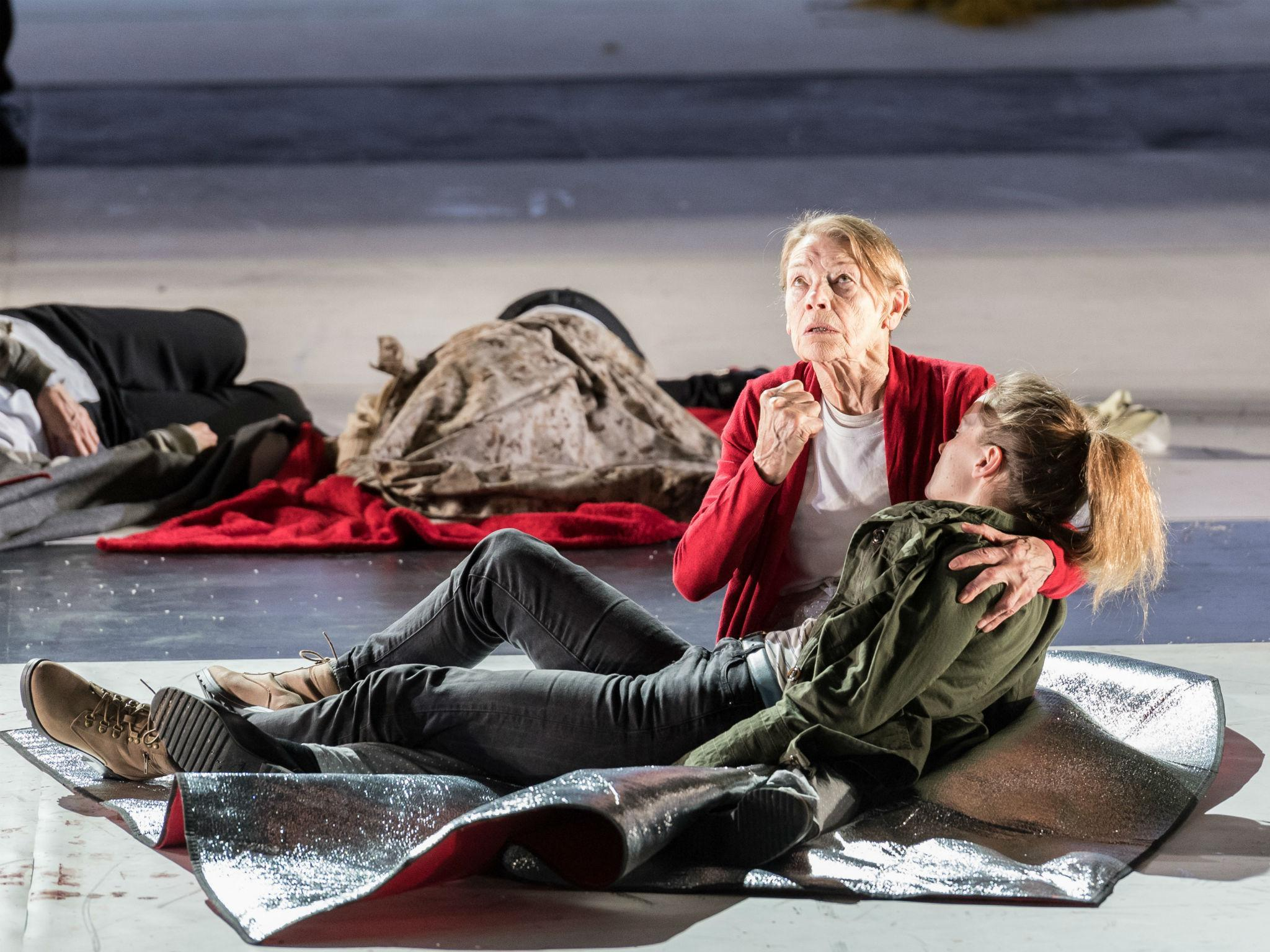 King Lear, Old Vic, London, review: Glenda Jackson got a fervent standing ovation   The Independentindependent_brand_ident_LOGOUntitled