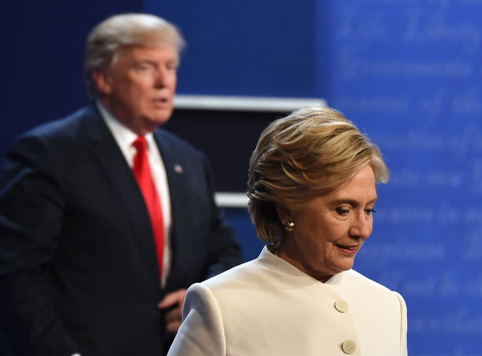 Final aggregation polls show Clinton leading ahead by 2 points