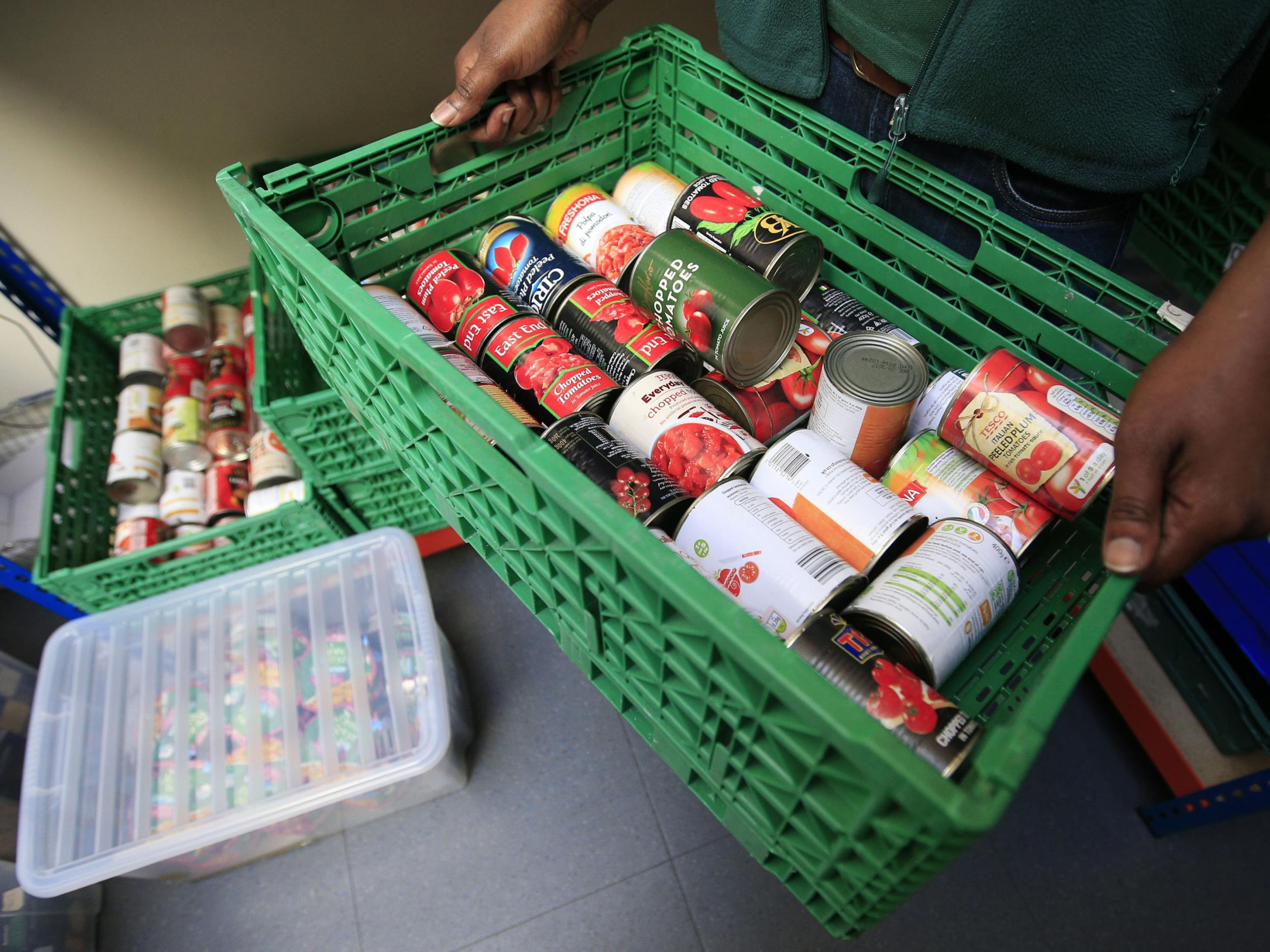 Food Bank Use Soars 13 In A Year As Universal Credit Drives