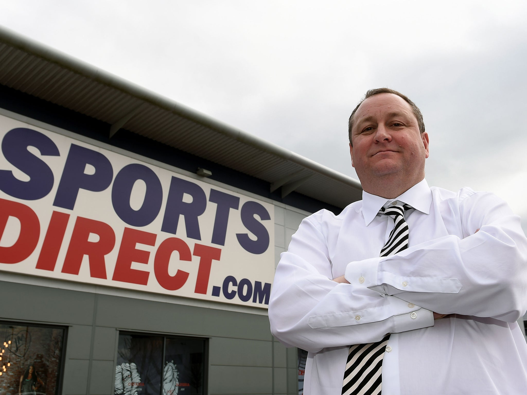 'Disgraceful' Sports Direct accused of 'secretly recording' MPs