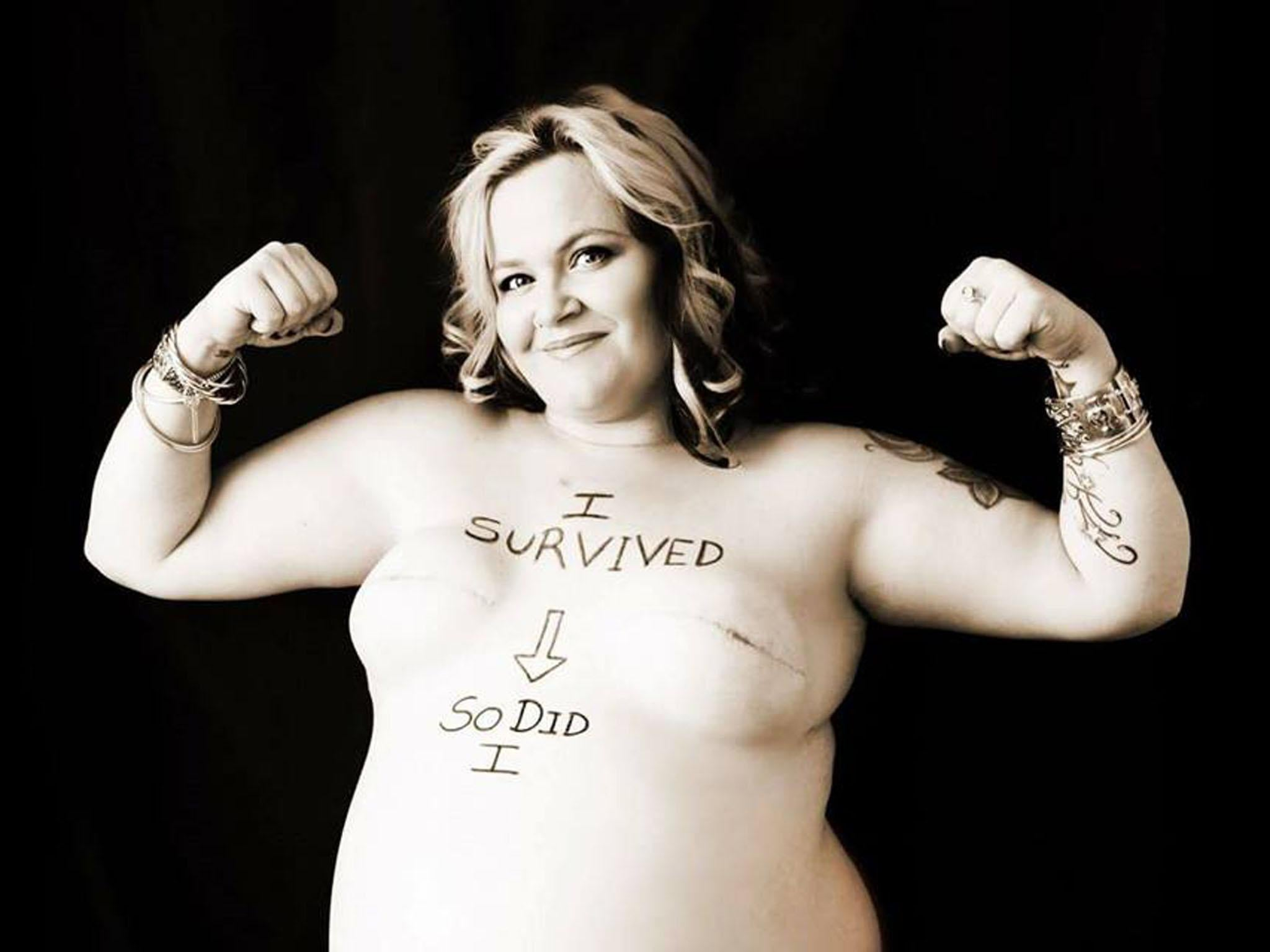 Raw photos expose the reality of battling breast cancer while pregnant