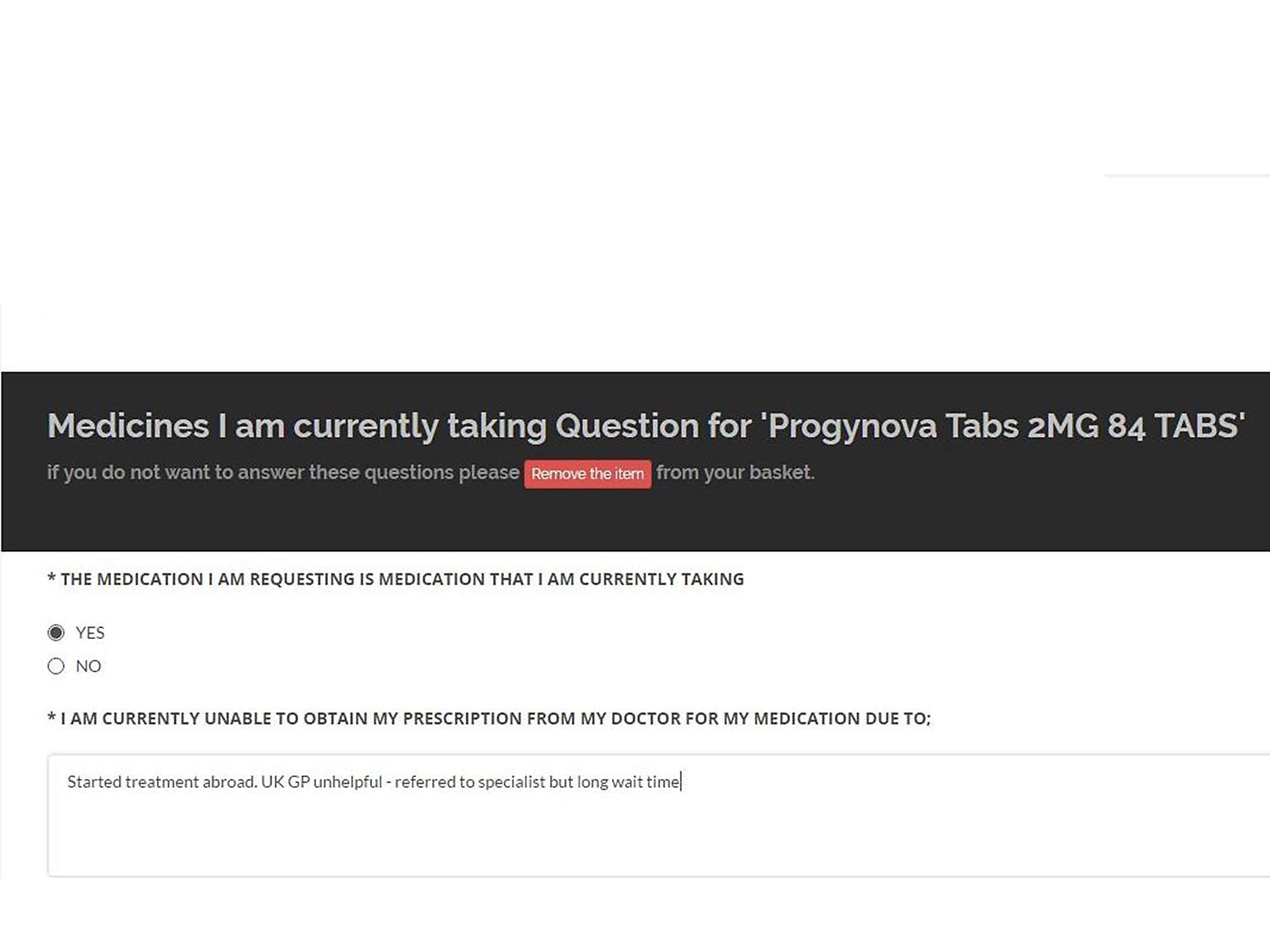 İlaç Proginova. Yorumlar ve açıklama