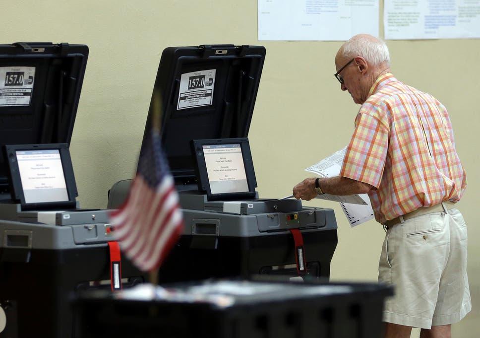 Image result for florida voting machine photos