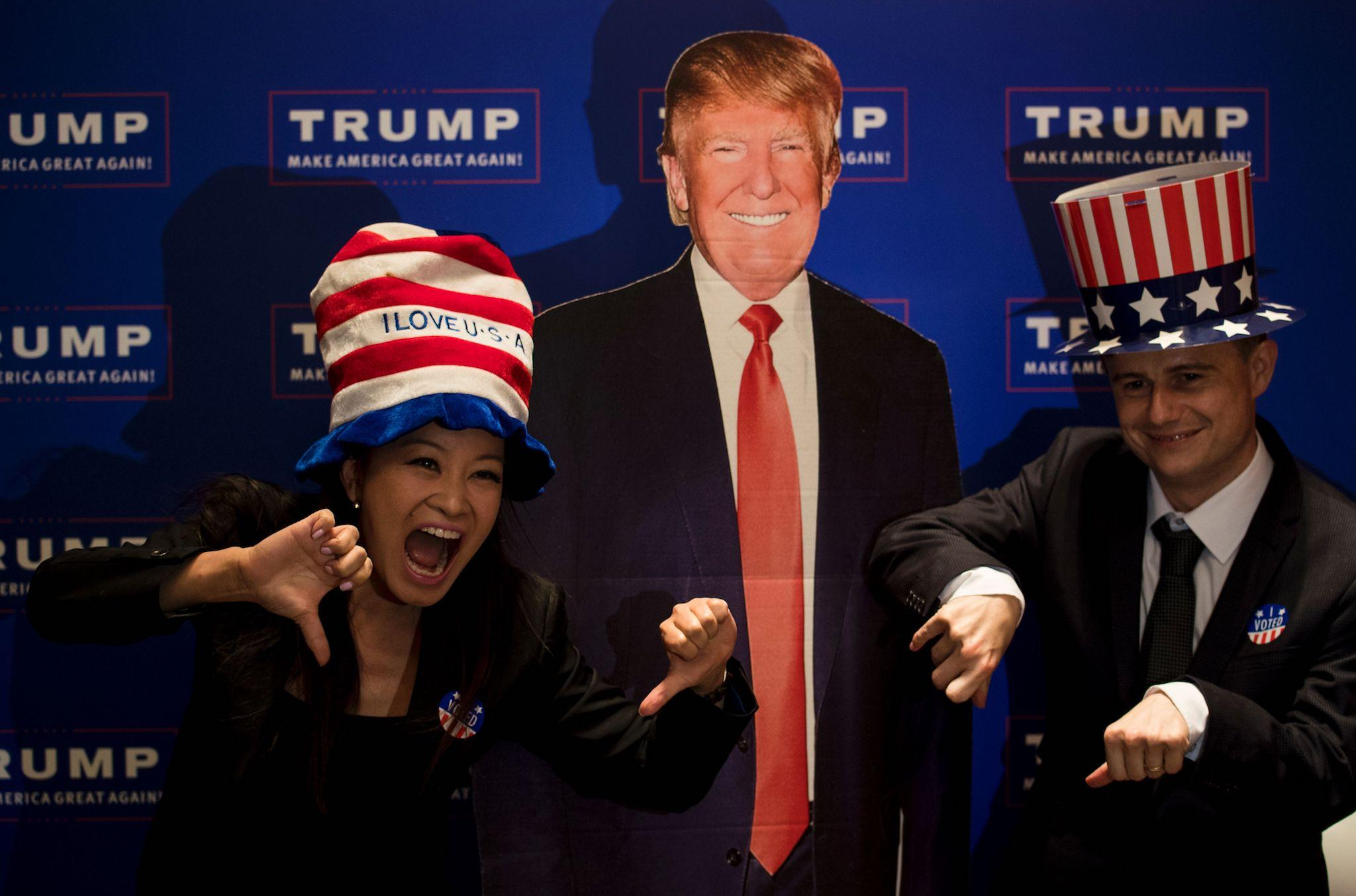 Chinese state media says that Donald Trump as president is what happens if people have democracies