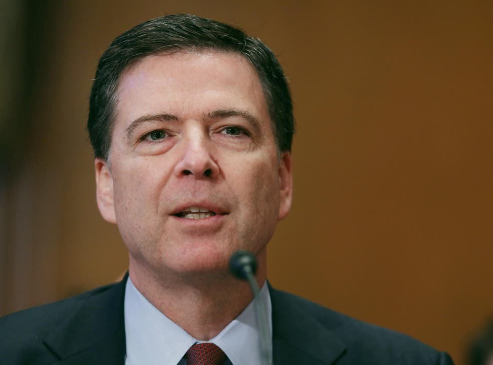 Federal Bureau of Investigation Director James Comey