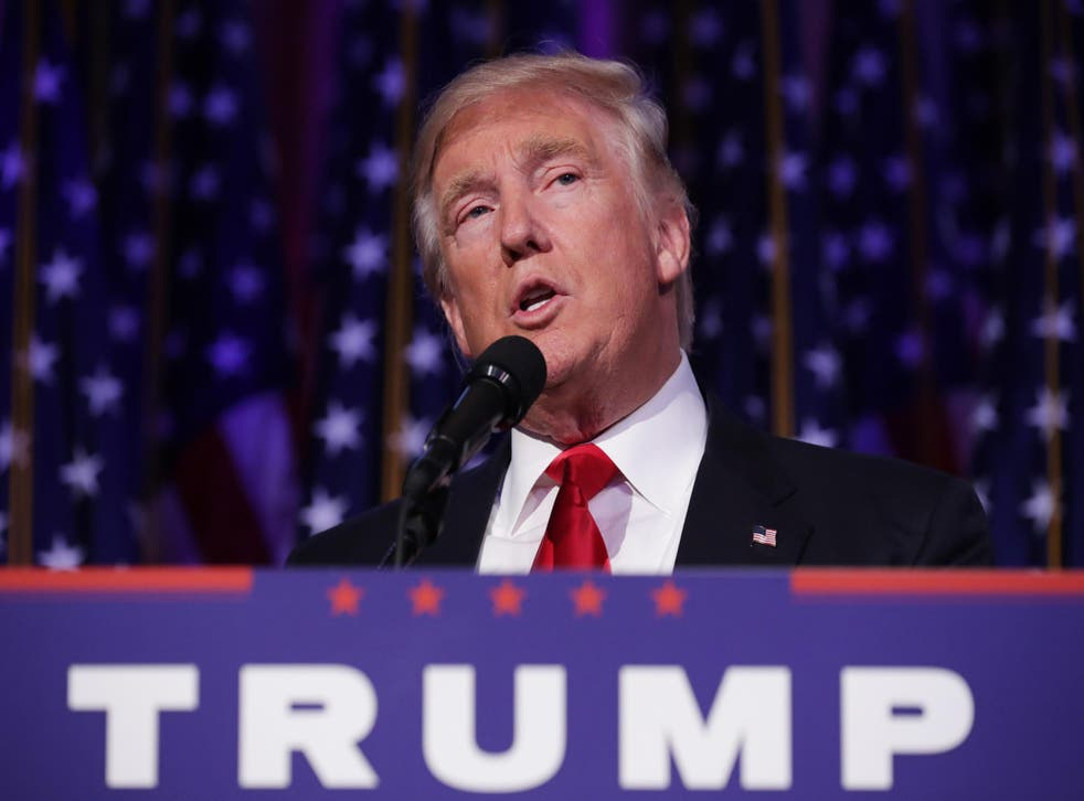 Mr Trump has previously been criticised for negative comments on US efforts to destroy Isis in Syria and Iraq