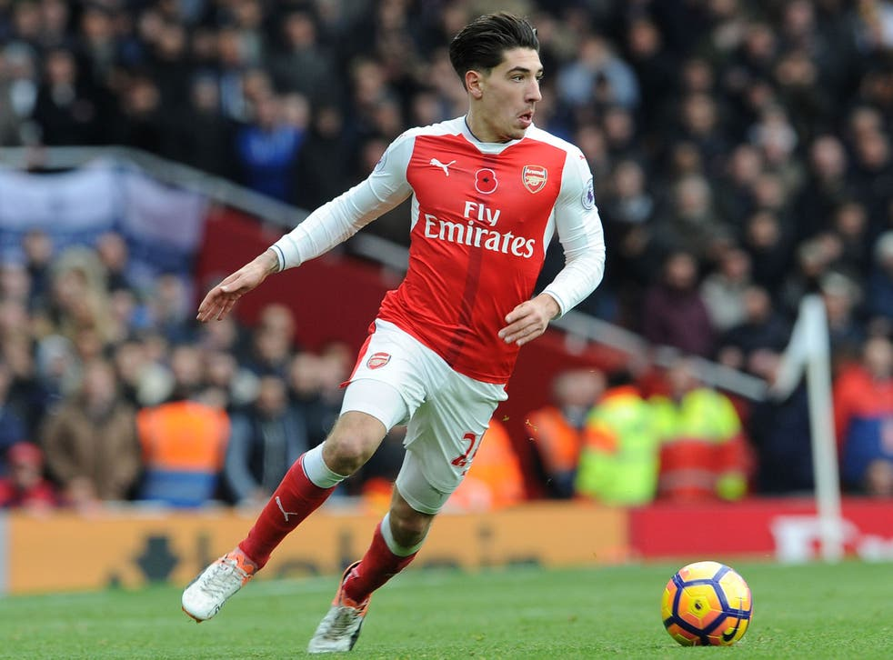 Héctor Bellerin is one of the players who will donate a day's wages to the cause of ending youth homelessness