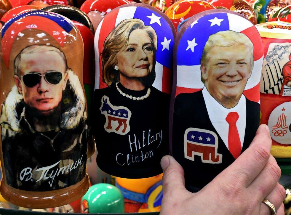 Donald Trump has been talking up his relationship with Vladimir Putin