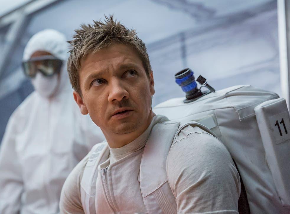 Jeremy Renner stars in sci-fi film 'Arrival' in which he meets aliens