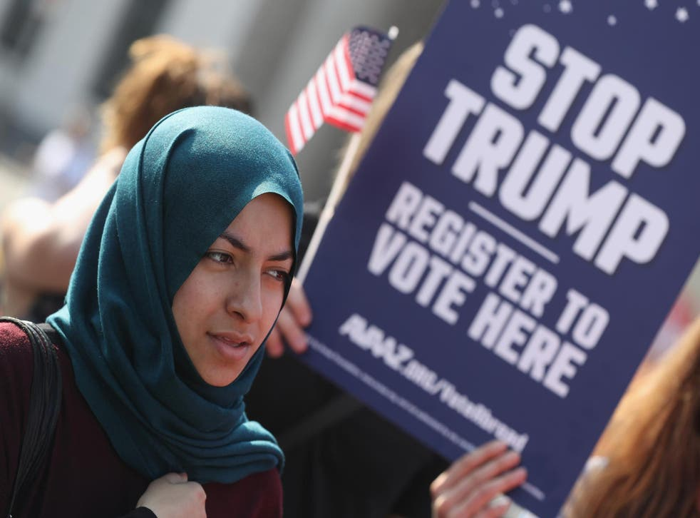 The ACLU said it would mobilise its army of staff and volunteers to challenge proposals like banning Muslims or punishing women