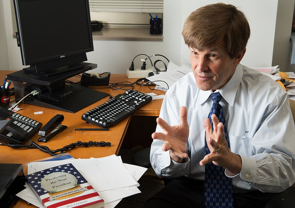 Historian who predicted Donald Trump would win presidency forecasts