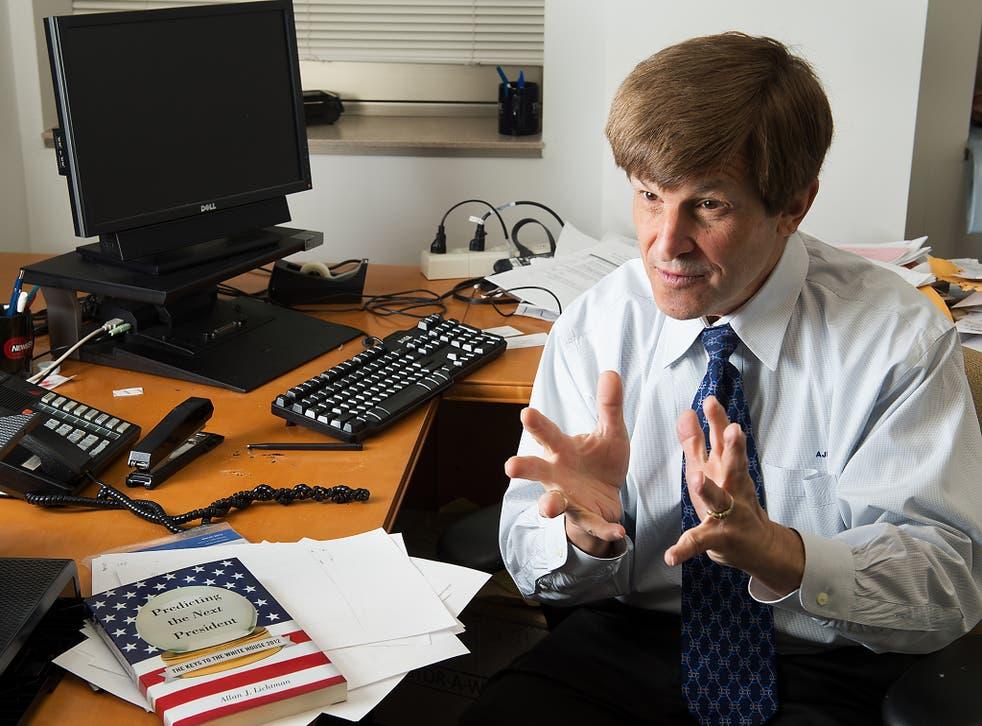 Professor Lichtman correctly predicted Trump's election victory - his ninth successive successful US election prediction