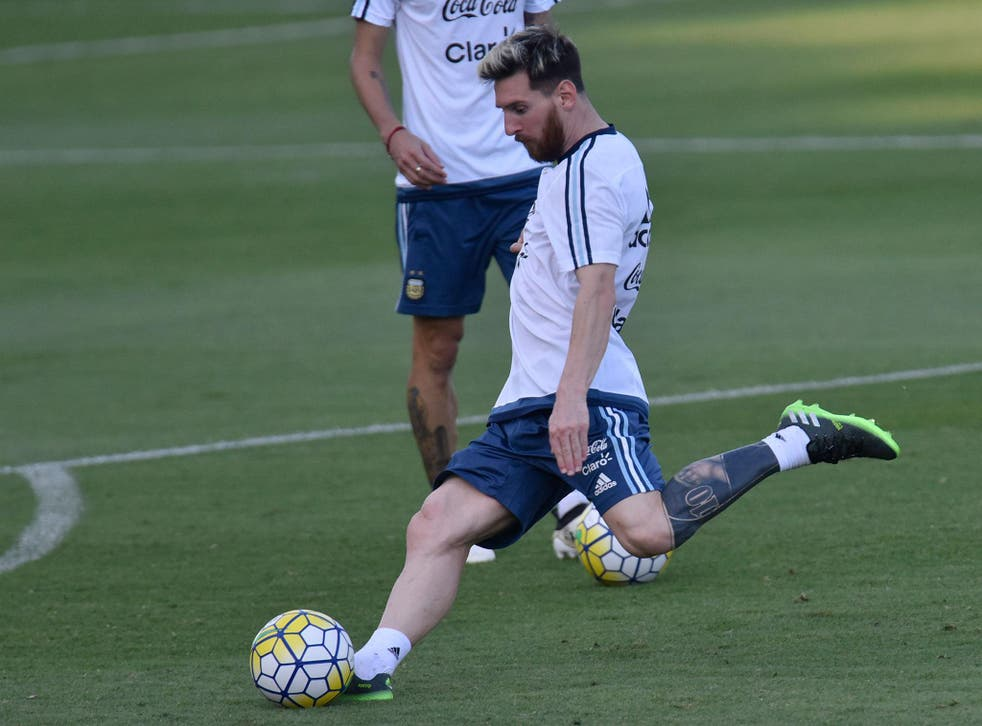 The Argentina legend will hope to inspire his nation to victory in Brazil on Thursday