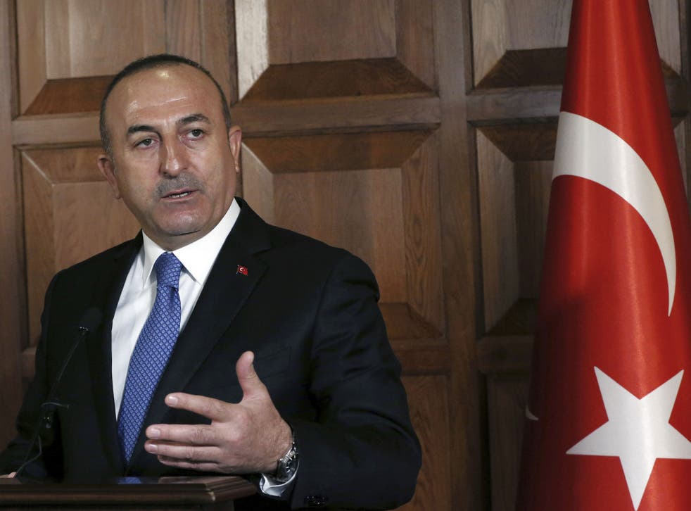 Turkish Foreign Minister Mevlut Cavusoglu called for the immediate extradition of all eight soldiers
