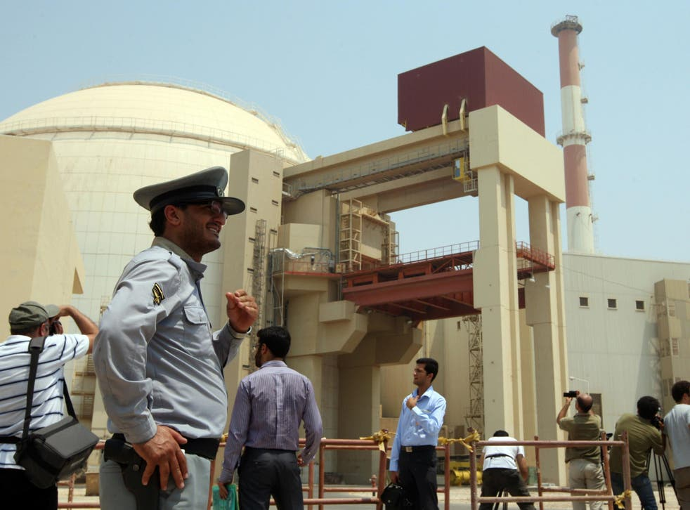 The Bushehr nuclear power plant in south Iran in a file photo from August 2010