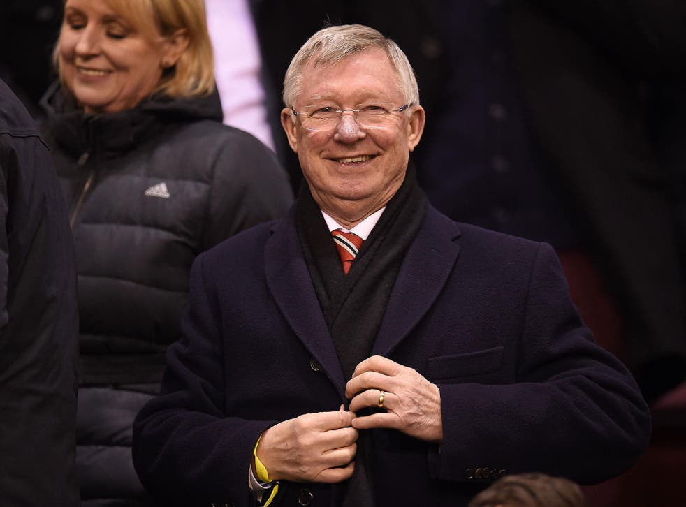 Ferguson was in charge at United for almost three decades