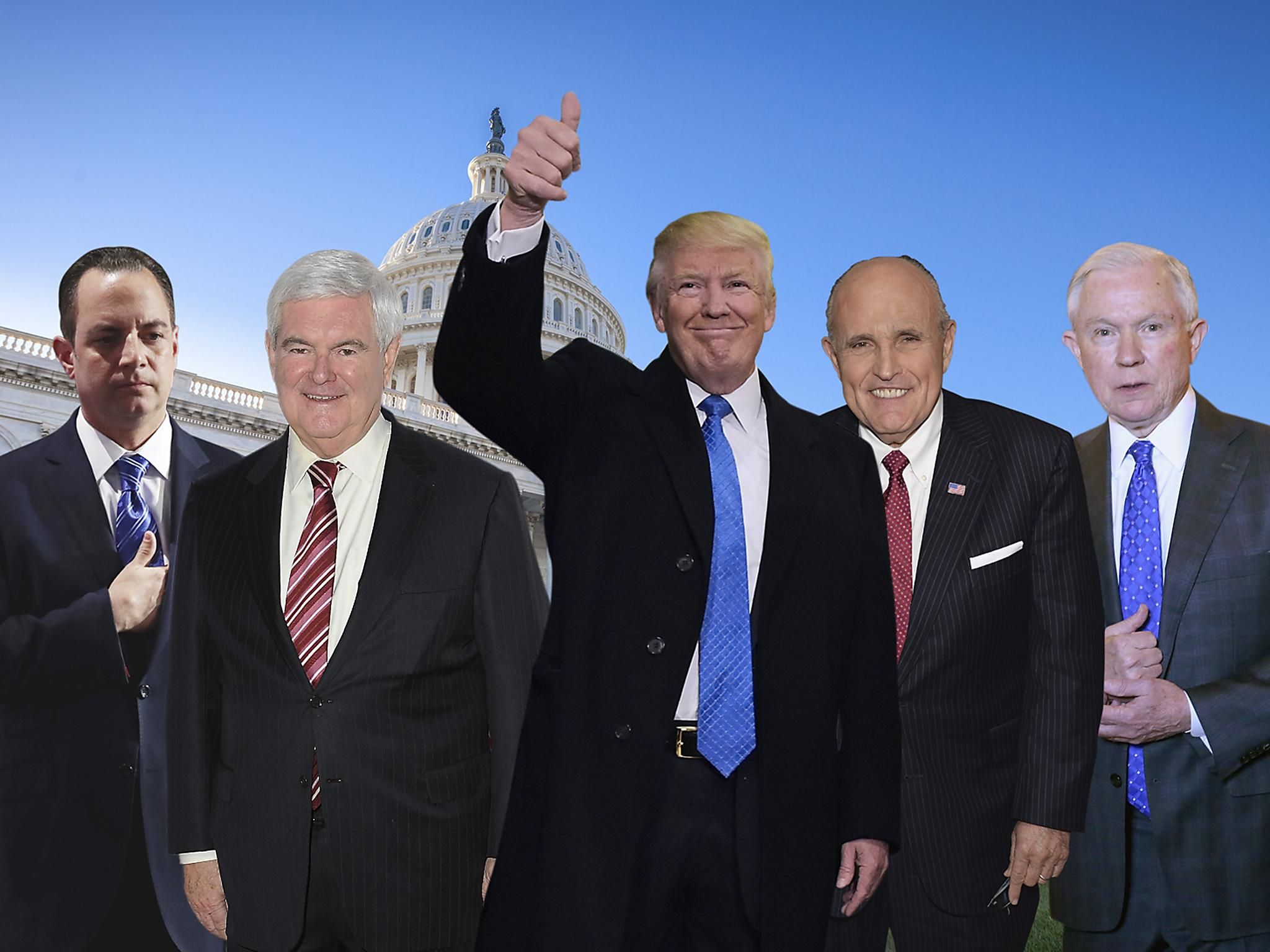 Trump's Cabinet: The candidates for the new President's top team ...