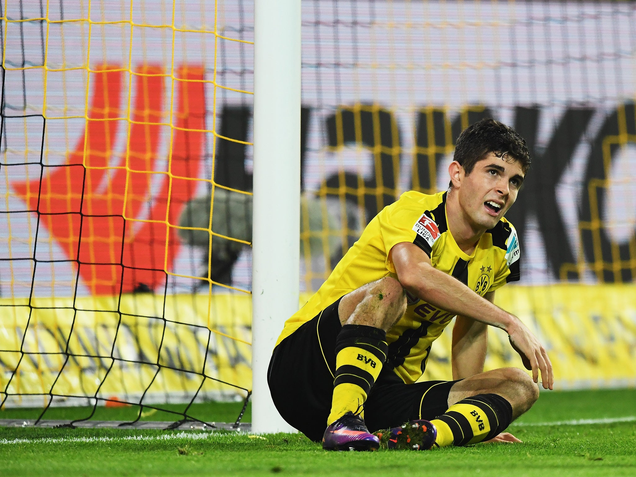 Liverpool transfer news: Borussia Dortmund ready to renew Christian Pulisic contract | The Independentindependent_brand_ident_LOGOUntitled