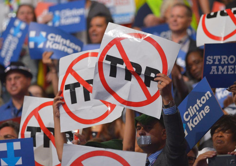 The Trans Pacific Partnership Is Dead Says Senior Democrat Charles