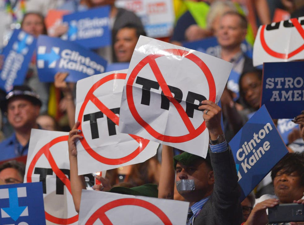 Despite widespread support among commercial sectors, including retail and agriculture, the trade deal was unpopular