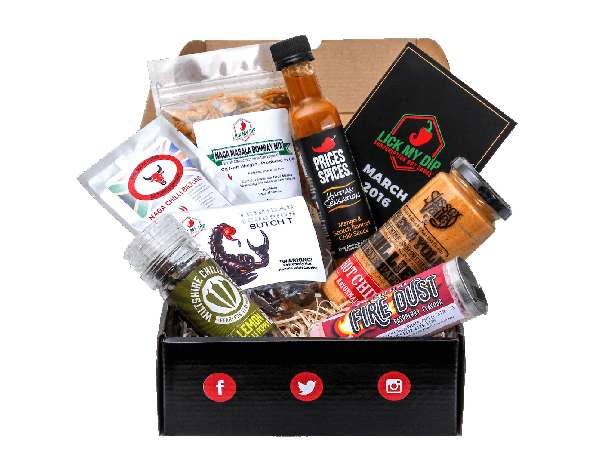 15 best food subscription gifts | The Independent